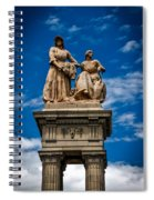 The Sculpture Agriculture Spiral Notebook