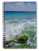 The Sea Breathes Spiral Notebook