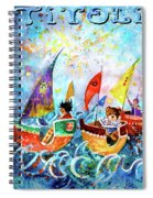 The Sea Cruise Of Tivoli Gardens Spiral Notebook