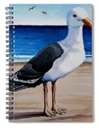 The Sea Gull Spiral Notebook