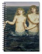 The Sea Maidens Spiral Notebook