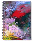 The Sea Of Lost Hearts Spiral Notebook
