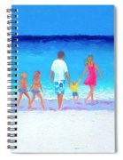 The Seaside Holiday - Beach Painting Spiral Notebook
