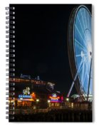 The Seattle Great Wheel 2 Spiral Notebook