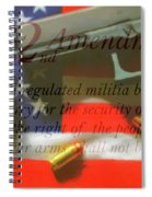 The Second Amendment Spiral Notebook