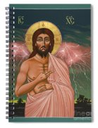 The Second Coming Of Christ The King 149 Spiral Notebook