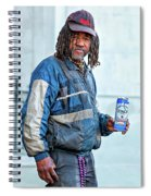 The Second Most Interesting Man In The World  Spiral Notebook
