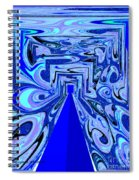 The Secret Room Abstract Spiral Notebook