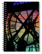 The Secret Workings Of Time Spiral Notebook