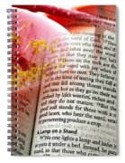 The Seed Is The Word Of God Spiral Notebook
