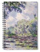 The Seine At Giverny Spiral Notebook