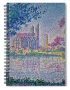 The Seine At Mantes, By Paul Signac, 1899-1900, Kroller-muller M Spiral Notebook