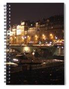 The Seine At Night Spiral Notebook