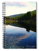 The Serenity Of The Moyie  Spiral Notebook