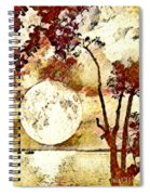 The Setting Moon Spiral Notebook