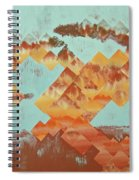 The Setting Sun Spiral Notebook