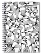 The Seventh Wave Spiral Notebook