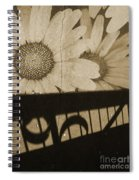 The Shadow Flowers Spiral Notebook