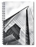 The Shard Building Spiral Notebook