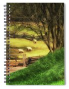 The Sheep's In The Meadow Spiral Notebook