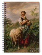 The Shepherdess Spiral Notebook