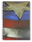 The Shield Spiral Notebook