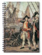 The Ship That Sank The Victory Spiral Notebook