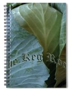 The Shy Cabbage The Keg Room Old English Hunter Green Spiral Notebook