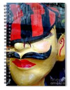The Shy Parisian Spiral Notebook