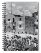 The Siege Of The Alamo Spiral Notebook