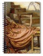 The Siesta, 1909 Spiral Notebook