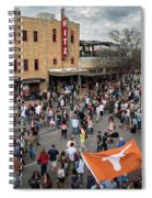 The Sights And Sounds Of Sxsw Are Enormous From 6th Street As Thousands Of Revelers Fill The Streets Spiral Notebook