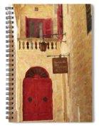 The Silent City Spiral Notebook