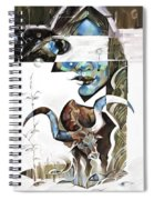 The Silent Nomad Spiral Notebook