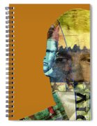 The Silent Type Spiral Notebook