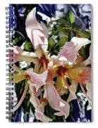 The Silk Flowers Spiral Notebook