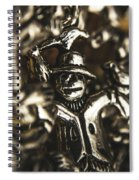 The Silver Strawman Spiral Notebook