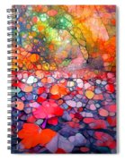 The Simple Dreams Of Fallen Leaves Spiral Notebook