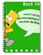 The Simpsons Spiral Notebook