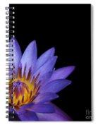 The Singular Embrace Topaz  Spiral Notebook