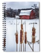 The Sinking Barn Spiral Notebook