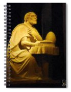 The Sinner Who Became A Saint Spiral Notebook