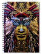 The Sioux Spirit - The Plumed Lion Spiral Notebook