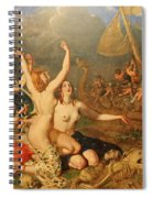 The Sirens And Ulysses Spiral Notebook