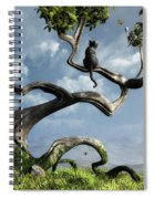 The Sitting Tree Spiral Notebook