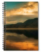 The Skaha Sunrise Spiral Notebook