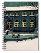 The Skaters Spiral Notebook