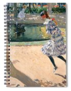The Skipping Rope Spiral Notebook