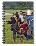 The Skirmish Begins Spiral Notebook