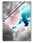 the sky...She came to me  Spiral Notebook